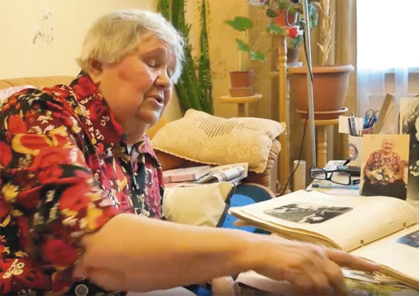 ветеран Великой Отечественной войны Раиса Сергеевна Агафонова