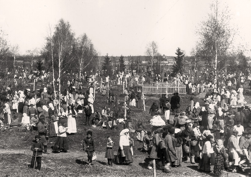 кладбища города Глазова